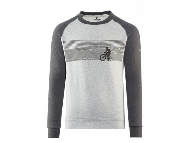 PEARL iZUMi Bluza z długim rękawem Mężczyźni, landscape bike black/grey